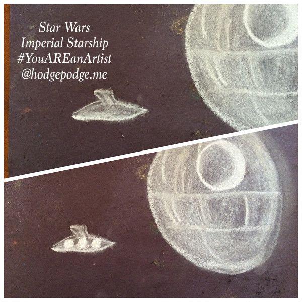 58 best space art images on pinterest chalk pastels for Space art tutorial