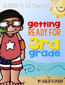 Great summer math packet for your soon to be 3rd graders!