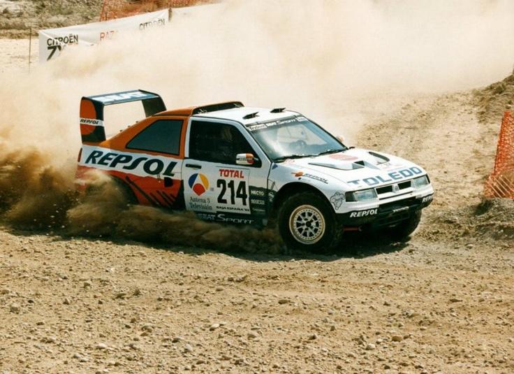 Josep María Serviá-Enric Oller. SEAT Toledo Maratón. Baja España 1993