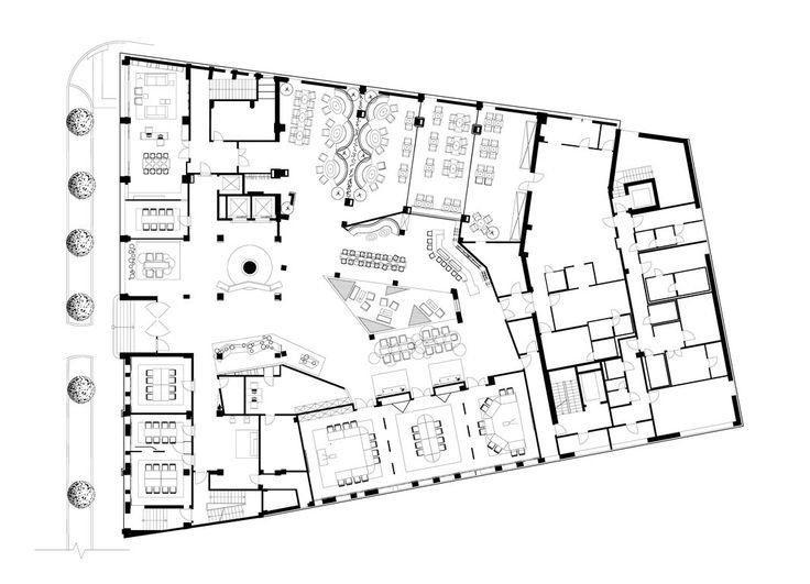 Best 25 hotel floor plan ideas on pinterest suite room for Design business floor plans online free
