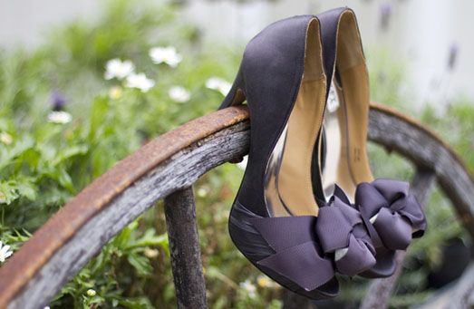 scarpe da sposa viola | Wedding Wonderland