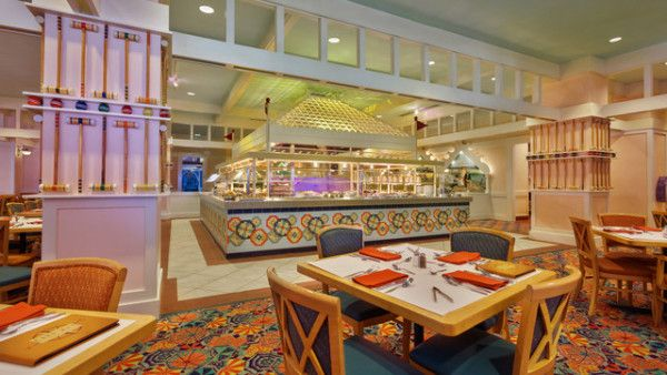 Restaurantes na Disney - Cape May Cafe