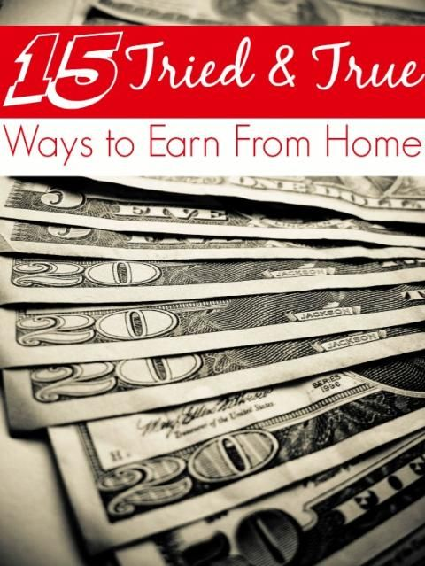 15 Easy Ways to Earn From Home! All verified legit and ready for you to get started! These are great for adding anywhere from a few bucks a month to your budget to a full time income!