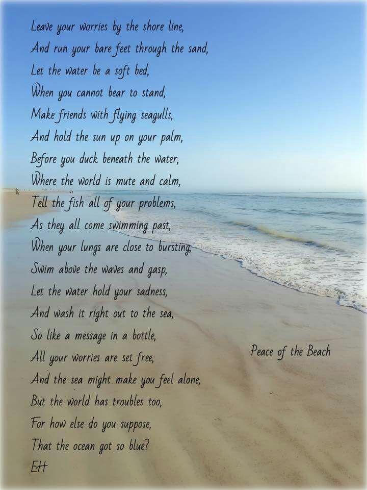 The ocean poem   Beach poems, Ocean poem, Water poems