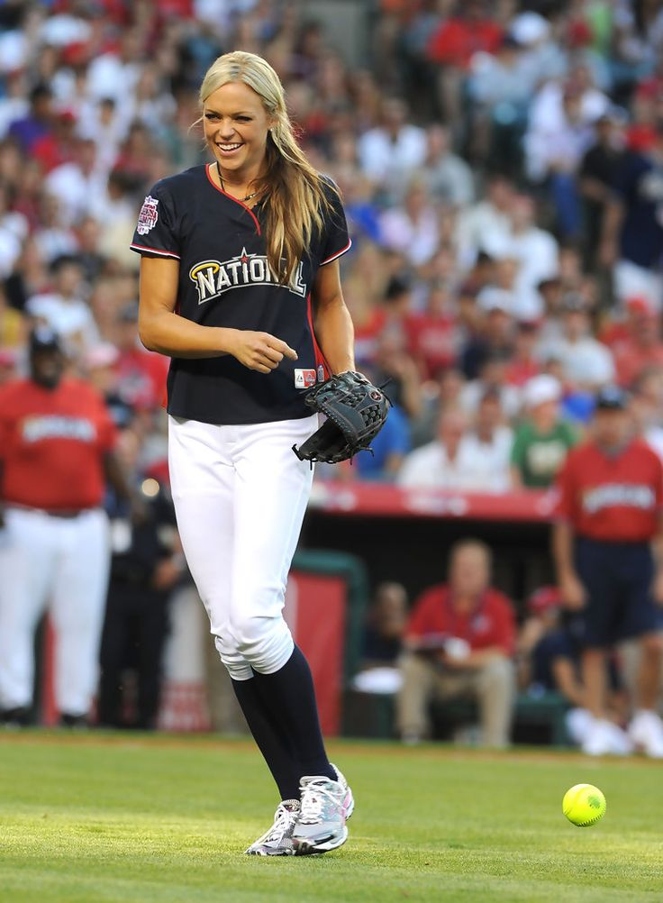 Jennie Finch | Jennie Finch Photos - MLB All Star Game Celebrity Softball Game ...