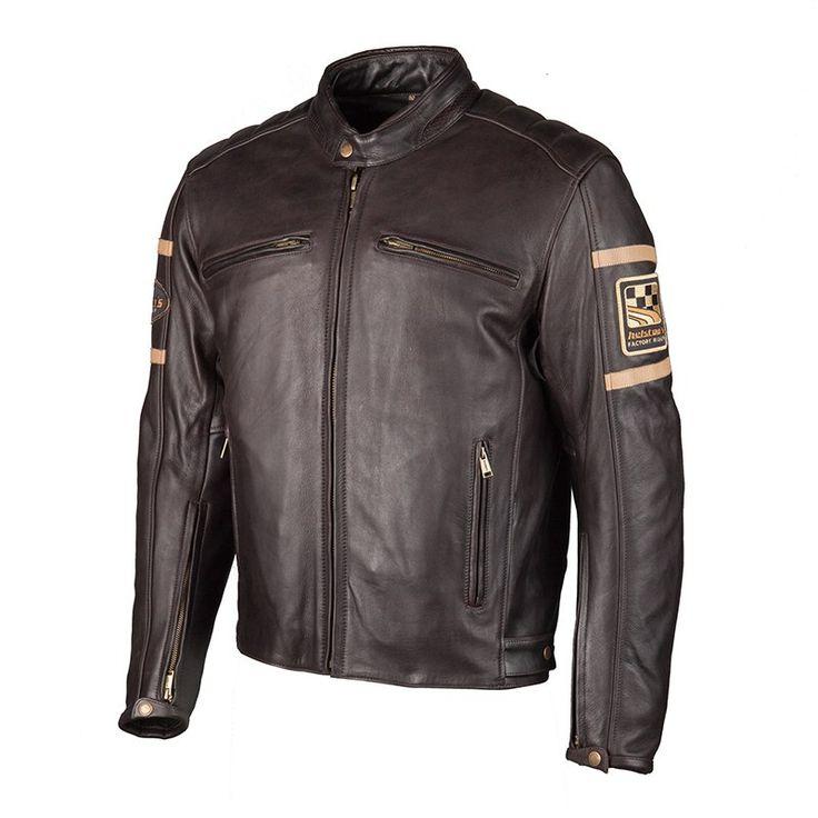 blouson cuir triumph retro racer les vestes la mode sont populaires partout dans le monde. Black Bedroom Furniture Sets. Home Design Ideas