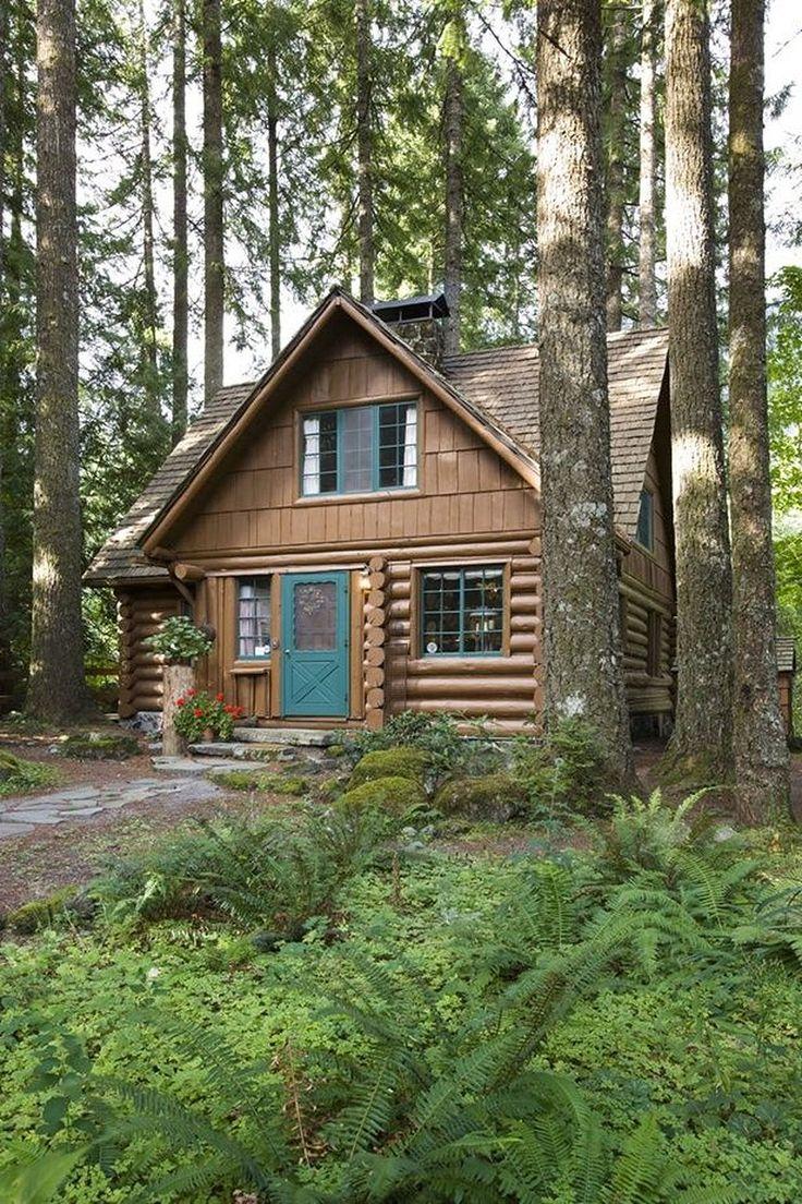 Log home builders nova scotia - 88 Rustic Small Cabin In The Wood