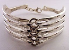 Fork and Spoon Jewelry: Fork Bracelet