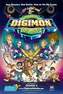 Digimon: The Movie- Starring: Lara Jill Miller and Joshua Seth (October 6, 2000)