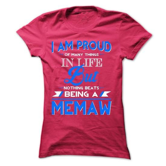 Proud MeMaw - #shirt dress #cute tee. BUY TODAY AND SAVE => https://www.sunfrog.com/Faith/Proud-MeMaw-42969944-Ladies.html?68278