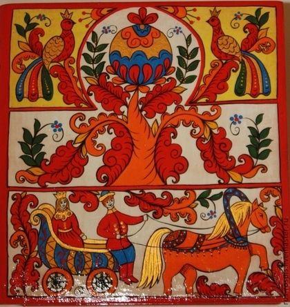 Шкатулка-книжка деревянная расписная 'Борецкая свадебная' в интернет-магазине на Ярмарке Мастеров. Шкатулка-книжка, подарочный вариант. Яркая, символичная, красочная роспись выполнена в стиле и цветовой гамме традиций Борецкой росписи. Парные птицы на древе жизни символизируют благополучие и счастье семьи. В нижнем ярусе традиционно изображён выезд. Дуга с колокольчиком над конём - оберег от всего дурного, что может встретиться на жизненном пути. Станет прекрасным именным подарк…