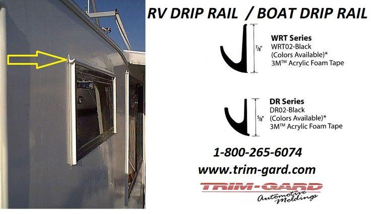 Rv Drip Rail Boat Drip Rail Trim Gard Drip Rail Is A