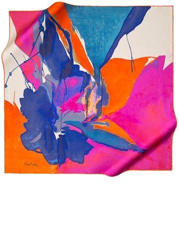 Foulard Soie Carré - Peinture Espace Aquarelle Par Vida Vida vtvo8RQ1