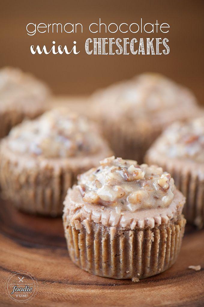 German Chocolate Mini-Cheesecakes #foodie #dan330 http://livedan330.com/2015/05/03/german-chocolate-mini-cheesecakes/