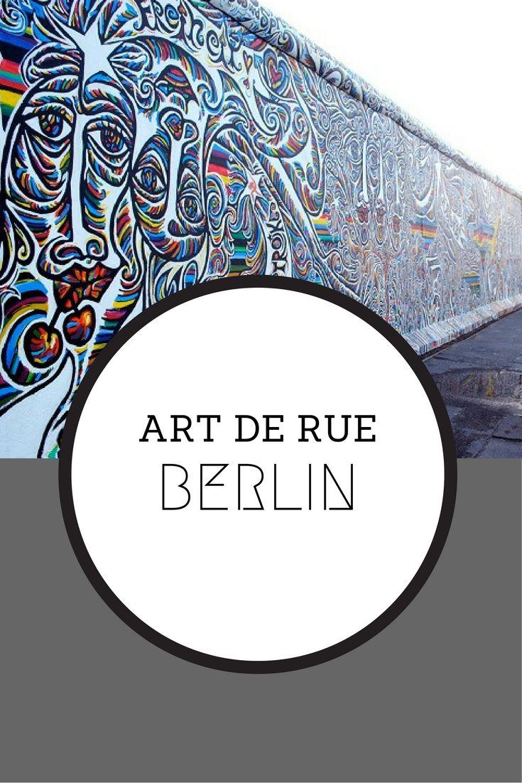 Une incursion dans l'impressionnant art de rue de Berlin  #Berlin #Allemagne #StreetArt
