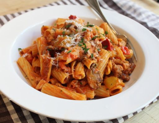 Wicked Chicken Riggi-From Pastabilities on Diners Drive Ins & Dives