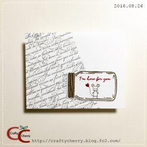 Crafty Cherry * forest1 / Jar Of Love Photopolymer Bundle(スタンピン・アップ)