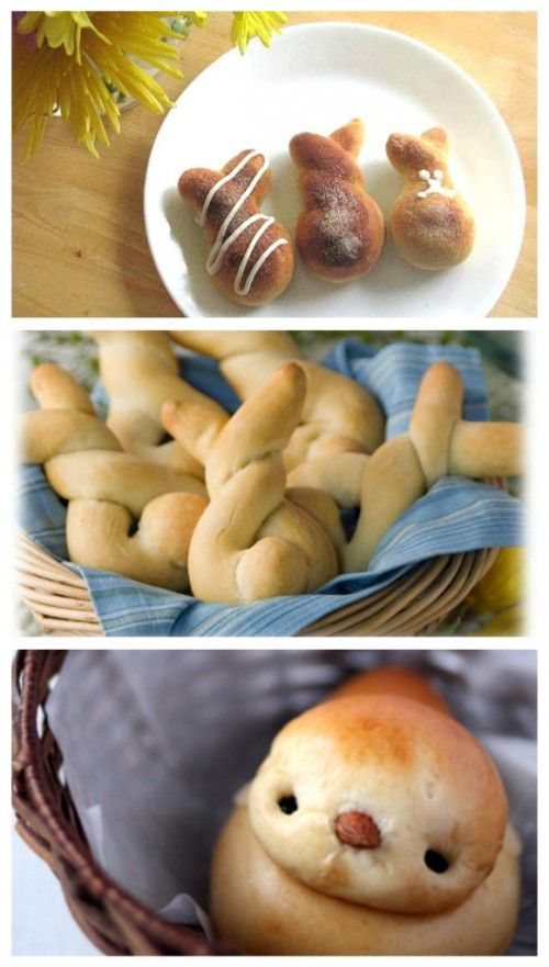 Fantastic Website of Easter Cooking ideas.  Way cute and easy.