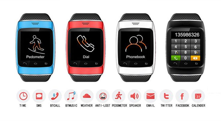 VOB Watch: BT smartwatch for iPhone & Android   Indiegogo