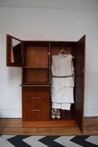 Wooden-Wardrobe-Mid-Century-Design-Vintage-Retro-1960s-1970s