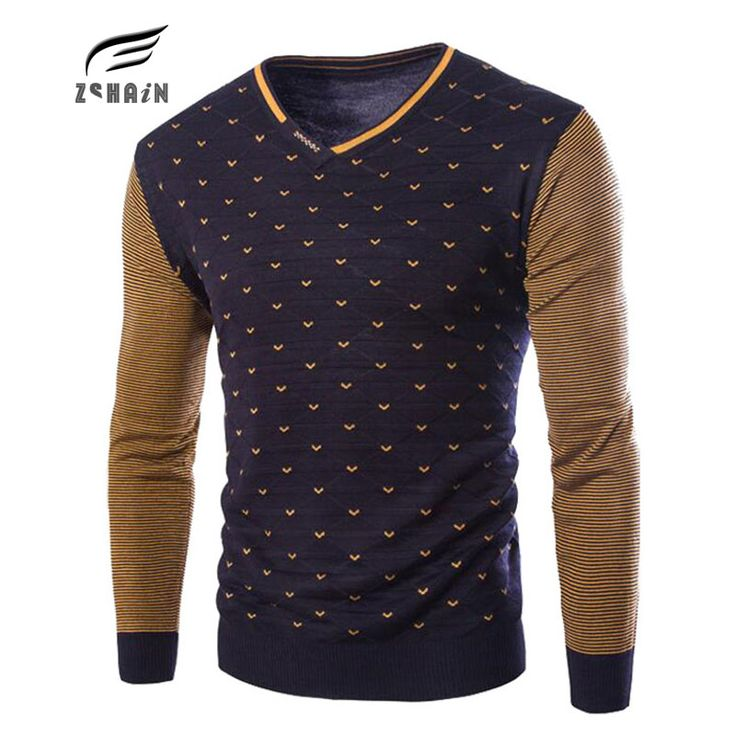 New Winter Fashion Brand Casual Sweater Men V-Neck Solid Slim Fit Knitting Mens Sweaters & Pullovers Sueter Hombre Pullover Knit