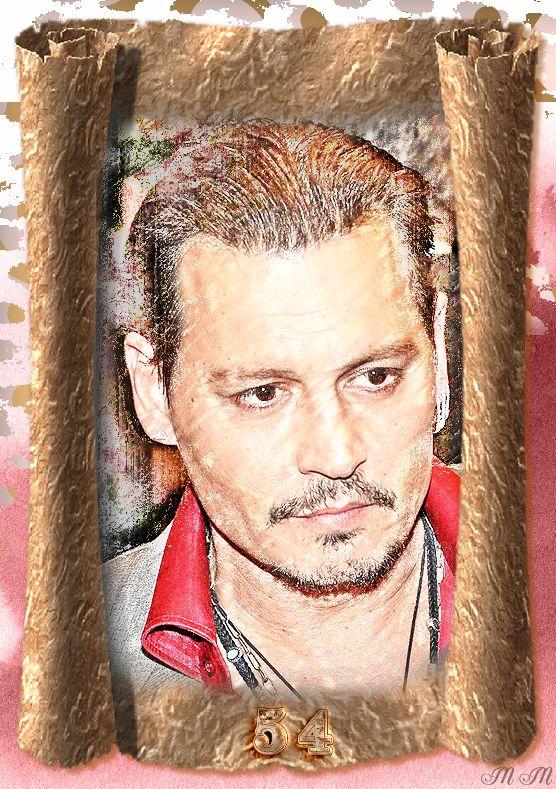 Happy Birthday to Johnny Depp - June 9, 2017.