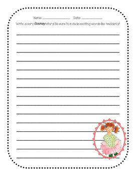 This is a writing activity to accompany any of the Gooney Bird Greene books.