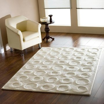 textured rug by rugcollective