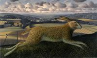 Leaping Hare, Brimsdown Hill, Wiltshire, James Lynch