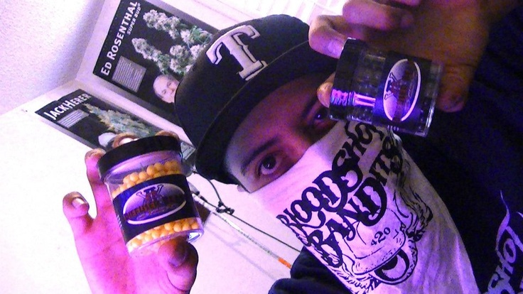 Bloodshot Bandits use and love diffuser beads when they smoke. Hip Hop weed music.
