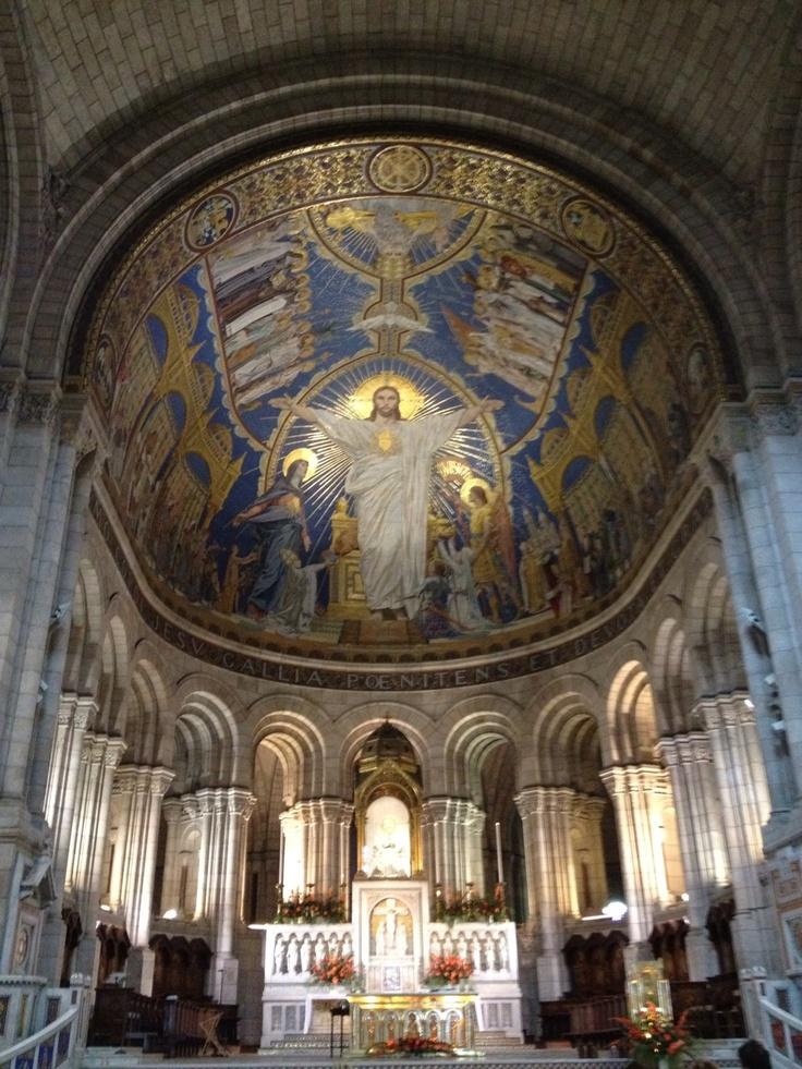 Inside Sacre-Ceur