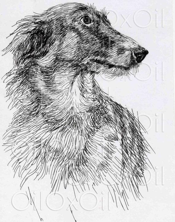 Dog ART by OilOxOil on Etsy, $5.00