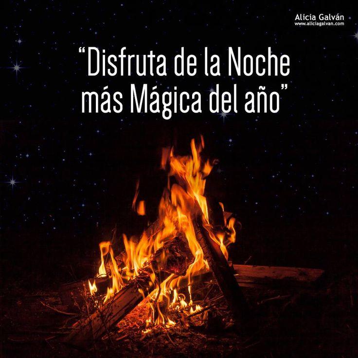 Y hoy llega una de las noches más esperadas de todo el año. Una noche mágica e idónea para dejar atrás todo lo malo y comenzar con energía positiva. ¡Feliz Noche de San Juan! #felizdía #felizjueves #DiaDeSanJuan #rituales