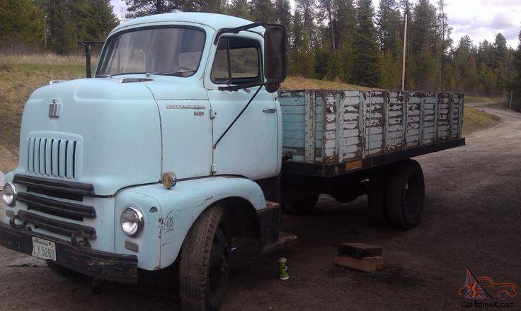 1956 International Coe Cabover Dump Truck International