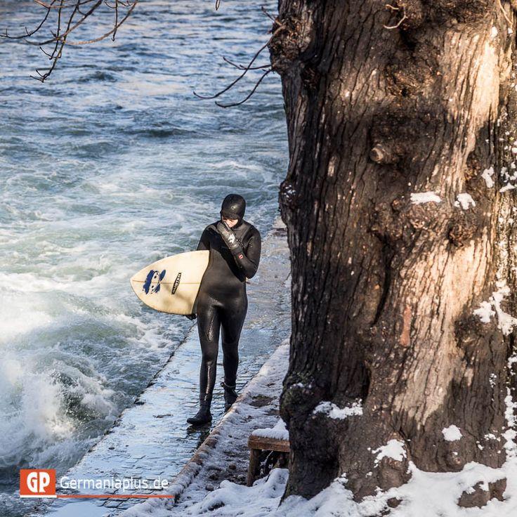 Охота пуще неволи или сёрфингМюнхен, Бавария, Фото | Мюнхен, Бавария, Фото