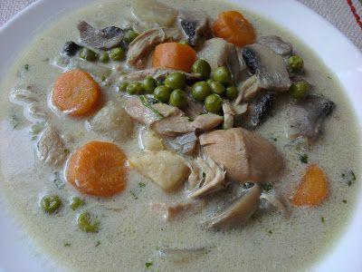 Paprikás krumpli: Pulykabecsinált leves