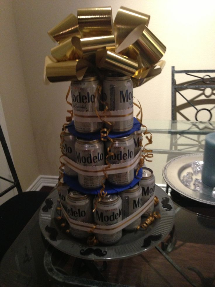 Beer cake... For the man too manly for cupcakes and bandaids