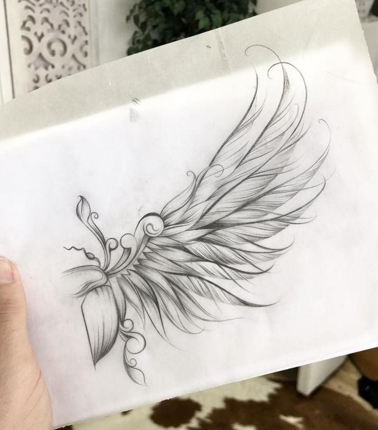 Angel Tattoo Designs with Meanings – 28 Ideas & Templates
