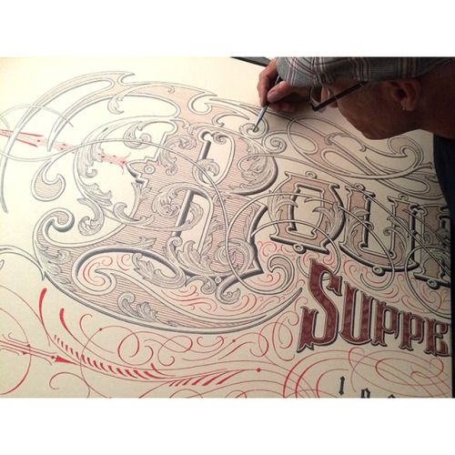 Typeverything.com - Hand lettering by Peter Greco.