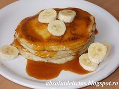 Absolut Delicios - Retete culinare: PANCAKES CU BANANE