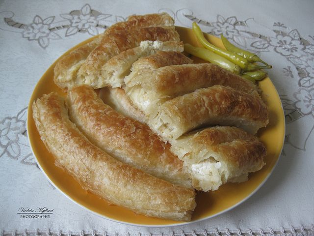 Pite me gjiz hugely popular in albania traditional for Albanian cuisine kuzhina shqiptare photos