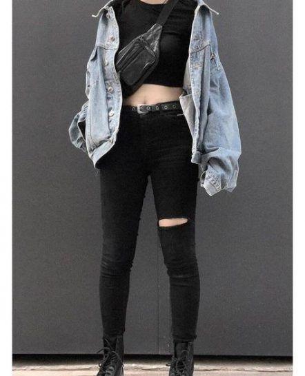 18  Ideas For Fashion Style Edgy Punk Grunge Outfits - #fashion #grunge #ideas #outfits #style -