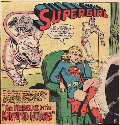 100 best classic supergirl images on pinterest supergirl for Classic haunted house novels