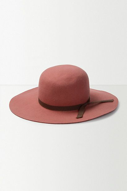 Helene Berman Coral Floppy Hat #anthropologie