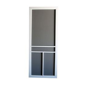 Screen Tight 32-in White Vinyl Screen Door