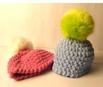 Baby Hat with Pompom, As Featured on Knitting Daily TV with Vickie Howell, Episode #1313 - Media - Knitting Daily