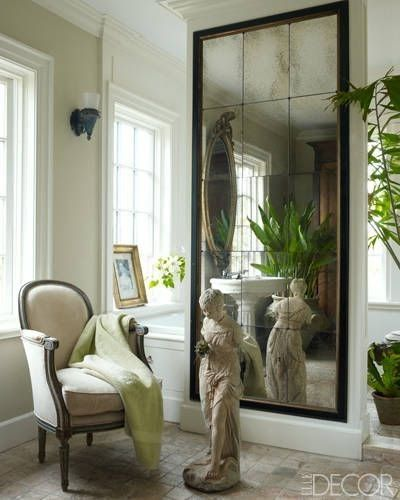 Color Outside The Lines Mirrored Walls Alcoves And Niches