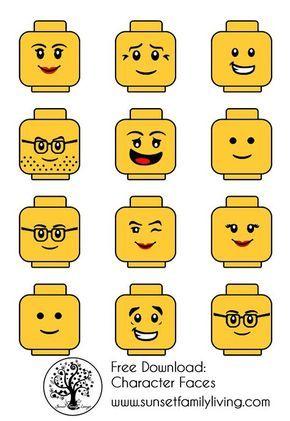 Lego Faces                                                                                                                                                      More