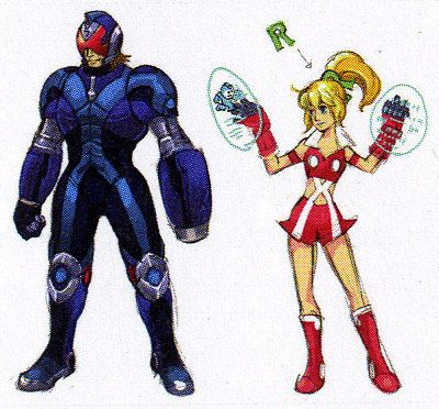 Mega Man arte conceptual  7