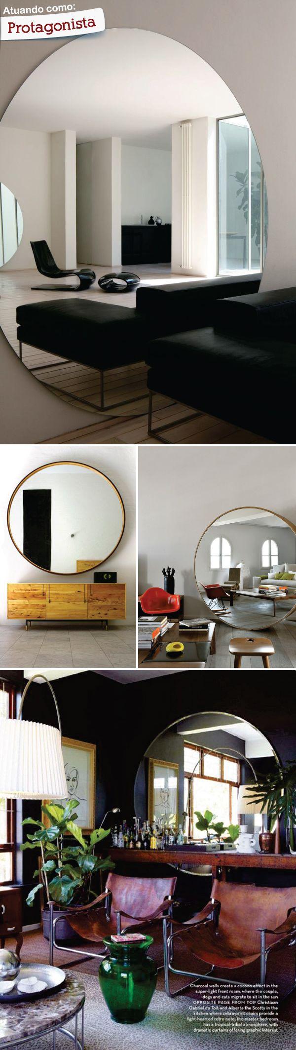decoracao interiores braga:1000 ideias sobre Espelhos Redondos no Pinterest